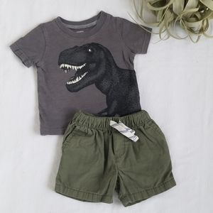 Boys Carter's Tee and Shorts Set